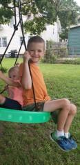 Grandkids Tyler and Shay