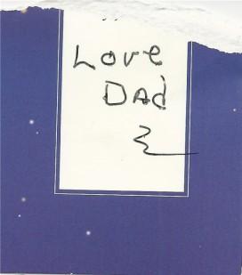 dad's signature