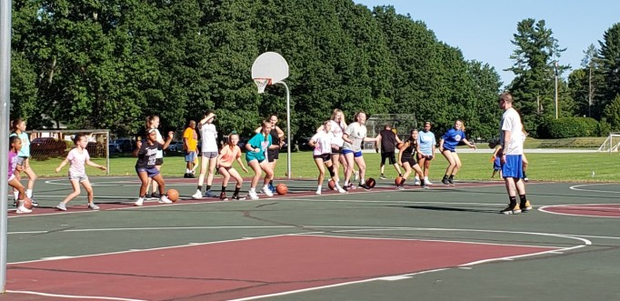 girls summer drills crandal park
