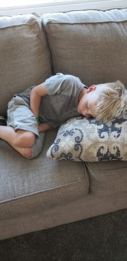 chris sleeping