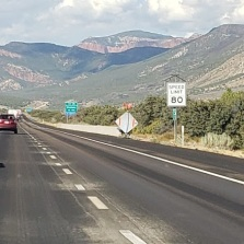 The road to St. George.
