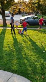 lindsay with kids
