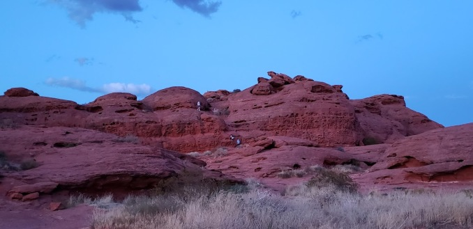 This is some of the red rock out West