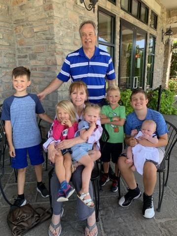 me and grandchildren