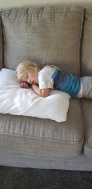 shay sleeping